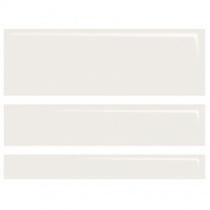 DOMINO Concept White Gloss CC06R - Керамическая плитка настенная, белая, (20)(12,4)(7,4)х60 см 524034