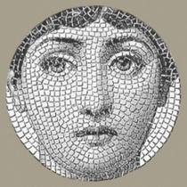 CERAMICA BARDELLI Tema E Variazione 2 Bianco Extra 16 - Декор керамический настенный, 10х10 см TV0021016