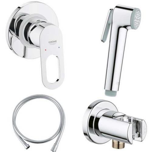 Гигиенический душ со смесителем Grohe BauLoop 111042 (29042000+28364000+27512001+28628000)