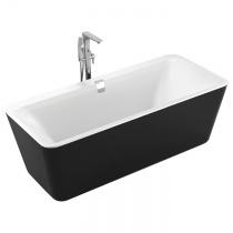 VOLLE ванна акриловая отдельностоящая 180х80х62мм, черная
