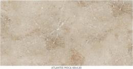 CERAMIKA SANTA CLAUS Atlantis Mocca - Керамогранитная плитка напольная, бежевая, 60х120 см 674232