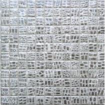 MOSAVIT Design Pelle Gris - Мозаика стеклянная универсальная, серая, 31,6x31,6 см 275228