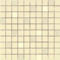 AVA LA FABBRICA Visia Mosaico Lime Lucido - Мозаика керамическая настенная, бежевая, 25х25 см 071076