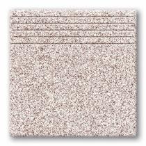 TUBADZIN Tartan 8 - Ступень керамогранитная, бежевая, 33,3x33,3 см  5907602125887