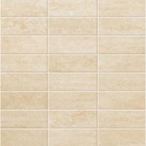 ATLAS CONCORDE Style Travertino Chiaro Mosaico - Мозаика керамогранитная универсальная, наружная, бежевая, 30х30 см AD07