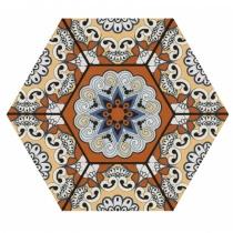REALONDA Sevres Marron - Керамогранитная плитка универсальная, коричневая, 28,5x33 см 347331