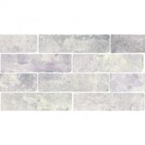 MONOPOLE Jerica Ceniza - Керамогранитная плитка универсальная, серая, 7,5x28 см 520254