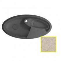 MARMORIN SILVANUS - Гранитная кухонная мойка, цвет бежевый гранит, 1100х540х215 мм 500513007