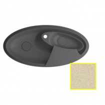 MARMORIN SILVANUS - Гранитная кухонная мойка, цвет сафари, 1100х540х215 мм 500513001