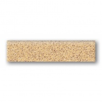 TUBADZIN Tartan 12 - Плинтус керамогранитный, желтый, 33,3x8 см 5907602108033