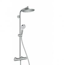 HANSGROHE Crometta S 240 1jet Showerpipe душевая система с термостатом 27267000