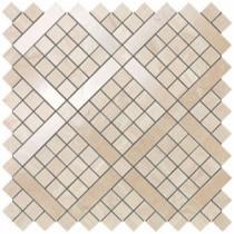 ATLAS CONCORDE Marvel PRO 9MVA Alabastino Diagonal - Мозаика керамическая настенная, коричневая, 30,5х30,5 см 511767