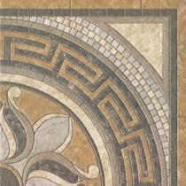 REALONDA Nantes Marron - Декор керамогранитный напольный, коричневый, 44,2x44,2 см 584963
