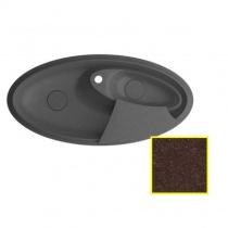 MARMORIN SILVANUS - Гранитная кухонная мойка, цвет шоколад, 1100х540х215 мм 500513017