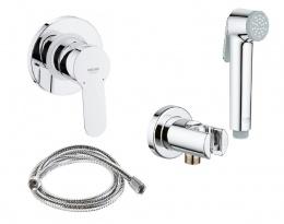 GROHE Гигиенический душ со смесителем BauEdge 28512001 (27512001+28628+29040+28105)