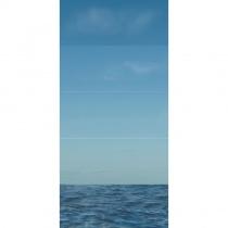 CERROL Porto Ocean Komplet - Декоративная плитка настенная, океан, 25х60 см 509593
