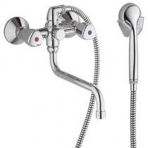 KLUDI STANDARD - Универсальный смеситель для ванны и душа DN 15, хром 251230515
