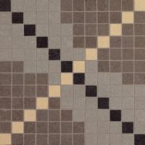 VIVES Arquinia Mosaico Deir Cemento - Мозаика керамогранитная универсальная, серая, 30x30 см ARMDC300
