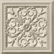 VALLELUNGA CERAMICA Villa D-Este G12510 Grigio Formella Este - Декор керамогранитный настенный, наружный, 15х15 см 268251