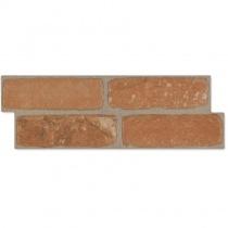MONOPOLE Castillo Morella - Керамогранитная плитка универсальная, наружная, коричневая, 147x442 мм 215137