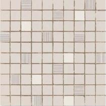AVA LA FABBRICA Visia Mosaico Sahara Lucido - Мозаика керамическая настенная, бежевая, 25х25 см 071071