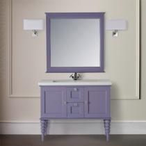 MOBILI DI CASTELLO Комплект Artemide - Шкаф напольный c умывальником и зеркалом, цвет глициния 9220-LLG