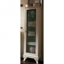 LABOR LEGNO MARRIOT - Пенал высокий правый, белая патина, 480x340x1620 мм M011PATDX