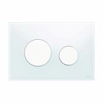Клавиша смыва White glass - белые кнопки TECE TECEloop 9240650