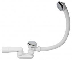 ALCAPLAST Сифон для ванны click-clack металл A504KM