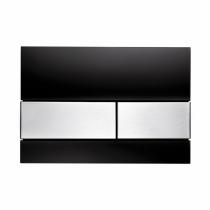 Клавиша смыва Black glass - нержавеющая сталь TECE TECEsquare 9240806