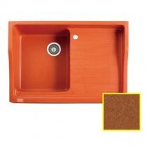 MARMORIN Rubid - Гранитная кухонная мойка, цвет тоффи, 890x615x270 мм 230114018