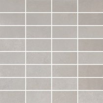 VIVES Massena Mosaico Bessieres Gris - Мозаика керамогранитная универсальная, серая, 30x30 см MMBG300