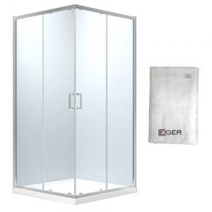 EGER HEVIZ душкабина 90х90х195cм (стекла+двери) + ПОДАРОК
