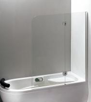 Шторка для ванны EGER 599-120CH/L левосторонняя