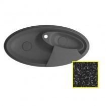 MARMORIN SILVANUS - Гранитная кухонная мойка, цвет черный, 1100х540х215 мм 500513002