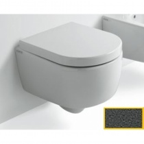 CIELO Smile Mini - Унитаз подвесной, цвет Antracite SMVSRA