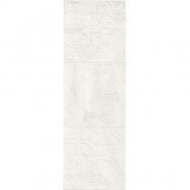 LOVE TILES CERAMIC Aroma Salt Flavour - Керамическая плитка настенная, белая, 20х60 см 800011