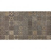 REALONDA Coria Deco Metal - Керамогранитная плитка универсальная, наружная, коричневая, 31,5x56,5 см 508748