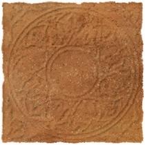 CERROL Cortona Brown Decor - Керамогранитная плитка напольная, наружная, коричневая, 33,3х33,3 см 511419