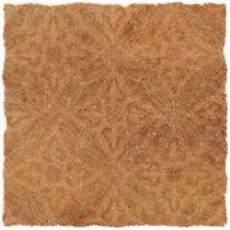 CERROL Cortona Brown Ornament - Керамогранитная плитка напольная, наружная, коричневая, 33,3х33,3 см 511418