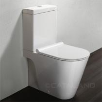 CATALANO ZERO Унитаз напольный моноблочный, цвет Bianco 1MPZN00