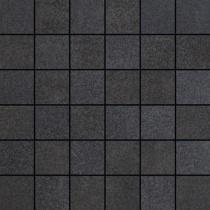 VIVES Kenion Mosaico Sein-SP Carbon - Мозаика керамогранитная универсальная, чёрная, 30x30 см KEMSCAR300