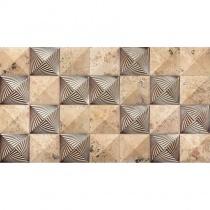 REALONDA Kefren Deco - Керамогранитная плитка универсальная, наружная, бежевая, 31,5x56,5 см 508747