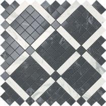 ATLAS CONCORDE Marvel PRO 9MVH Noir Mix - Мозаика керамическая настенная, черная, 30,5х30,5 см 519380