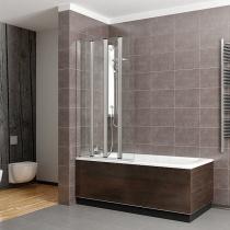 RADAWAY EOS PNW4 - Шторка для ванной, 4-х элементная, 86х152 см 205401-101