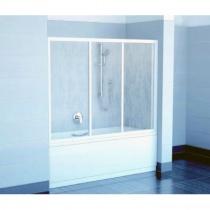 RAVAK AVDP3-120 - Трехэлементная шторка для ванны, раздвижная, 137х120 см AVDP3-120