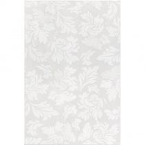 DOMINO Ilustre Decor Rosemary 4 Branco - Декор керамический настенный, серый, 33,3х50 см ERY14