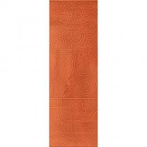 LOVE TILES CERAMIC Aroma Papaya Flavour - Керамическая плитка настенная, оранжевая, 20х60 см 80441