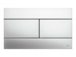 OLIVEIRA OLI Slim - Клавиша смыва, хром матовый 659046