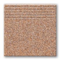 TUBADZIN Tartan 6 - Ступень керамогранитная, коричневая, 33,3x33,3 см  5907602125849